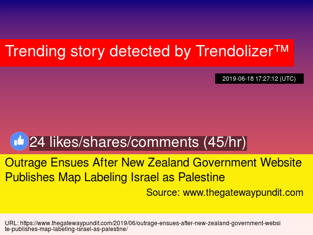 New Zealand Map Labeled.Outrage Ensues After New Zealand Government Website Publishes Map